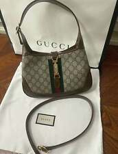 100% AUTHENTIC Gucci Beige GG Jackie 1961 small hobo bag