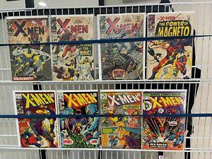 The X-men Comic Lot Silver Age 26 27 36 43 53 57 71 92