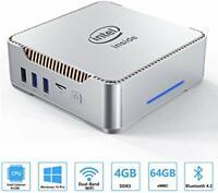 ACEPC AK3 Mini PC Windows 10 Pro, 4GB DDR 64GB eMMC Intel Celeron N3350 Mini