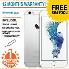 Apple iPhone 6S (Latest Model) 64GB Factory Unlocked - White / Silver