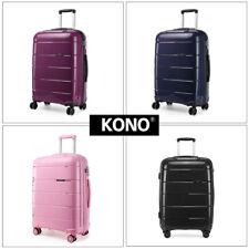KONO Hardshell Polypropylene Suitcase Trolley Travel Case Hand Cabin Luggage