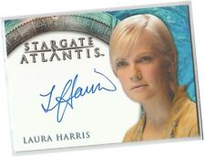 Stargate Atlantis Seasons 3 & 4 - Laura Harris - Nola Auto/Autograph Card