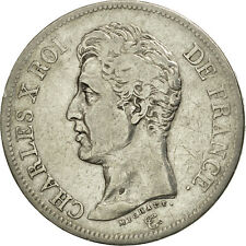 [#480647] France, Charles X, 5 Francs, 1825, Lille, TB+, Argent, KM:720.13