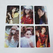 SNSD 2nd Oh! Yoona Yuri Seohyun Jessica Hyoyeon Sunny Photocard 6p set KPOP Used