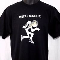 Metal Mackie Mens T Shirt Vintage 90s Mackie Audio Sound Gear Made In USA Medium