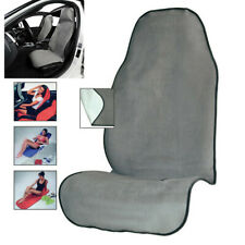 Gray Comfort Car Seat Cover Cushion Yoga Sweat Towel Mat for Fitness Gym &