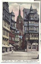 D 255 - Frankfurt, Durchblick n. Römerberg a. d. Dom, ugl.