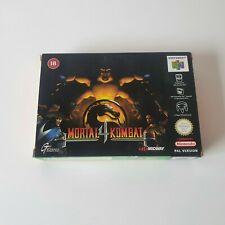 Mortal Kombat 4 - N64 - Nintendo 64 - PAL - EUR