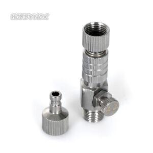 Hobbynox Airbrush Quick Coupler MPC G1/8 - 2 Male Parts HN012-01