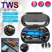 Bluetooth 5.0 Headset TWS Wireless Earphones Mini Earbuds Stereo Headphones v11