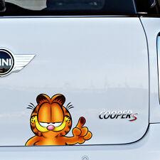 Garfield Cat Full Colour Vinyl Decal Window Sticker Car Bumper Gift New 2014