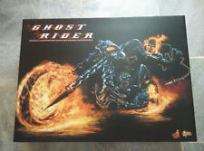 HOTTOYS 1/6 GHOST RIDER MMS133 Johnny Blaze & Hell Cycle Nicholas Cage Authentique