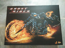 HOTTOYS 1/6 GHOST RIDER mms133 Johnny Blaze & Hell Cycle Nicholas Cage Authentic