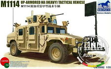 Bronco Model kit 1/35 M1114 Up-Armoured HA (Heavy) Tactical Vehicle #CB35092