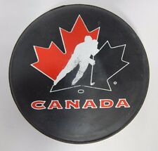 Canada Official Vintage Olympic Ice Hockey Team Puck (Wayne Gretzky)