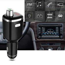 Car Bluetooth FM Transmitter Kit Hands-free Radio Adapter MP3 Player USB Charger