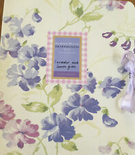 Laura Ashley Summer House 6 Draw Liners Lavender And Lemon Grass Unopened.