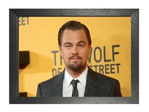 Leonardo DiCaprio #17 American Actor Poster Handsome Film Star The Wolf on Wall