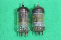 Westinghouse Electronic Tube AU7A ECC82 Lot of 2 Tubes Pulled from Organ