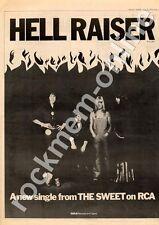 Sweet The Hell Raiser Advert 28/4/73