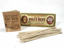 DILL'S BEST Pipe Tobacco Pipe Cleaners, Full Package, Unused || J.G. Dill Co. Ri