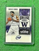 MARQUESE CHRISS AUTO CARD JERSEY #0 WARRIORS 2016 PANINI CONTENDERS DRAFT PICK