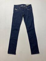DIESEL GRUPEE SUPER SLIM SKINNY Jeans - W29 L32 - Navy -Great Condition -Women's