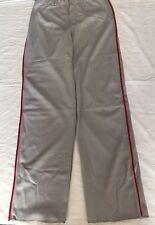Nike Men's Phenom Baseball Pants, Grey With Red, Size Large, Nwt
