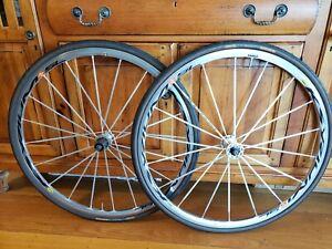 Mavic Ksyrium Wheelset, SSC SL Hubs, 700c road bike
