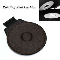 Car Seat 360°Rotating Revolving Cushion Memory Swivel Foam Mobility Aid Seat Pad
