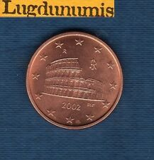 Italie 2002 - 5 centimes d'Euro - Pièce neuve de rouleau - Italia