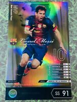 Panini soccer FootistaVer. Lionel Messi MVP Refractor Sticker WCCF sega