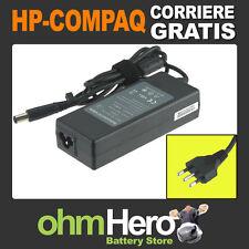 Alimentatore 19V 4,74A 90W per HP-Compaq Presario CQ61-306EL