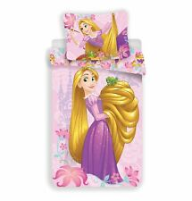 Disney Princess Rapunzel Reversible Duvet Cover Set 100% Cotton