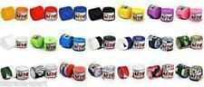 MTG Pro Boxing Hand Wraps 5m Elasticated Cotton MMA Muay Thai