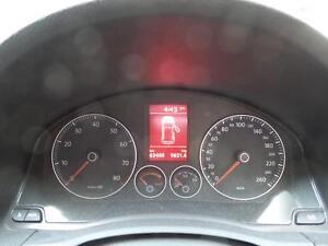 VOLKSWAGEN GOLF INSTRUMENT CLUSTER MANUAL T/M PETROL R32/GTi GEN 5 63400 KMS