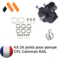 KIT 26 JOINTS REPARATION  FUITE POMPE A INJECTION COMMON RAIL BOSCH CP1