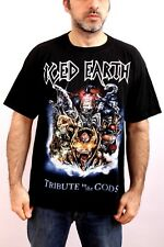 Iced Earth  Tribute to the Gods  Metal USA Band Black T Shirt 2001 Album L XL