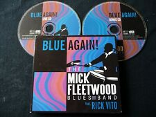 **2 CD** THE MICK FLEETWOOD BLUES BAND (FEAT RICK VITO)  BLUE AGAIN! 2008