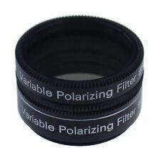 """1.25 """"No3 polarizzatore Filtro variabile per telescopio astronomico & oculare IT"""