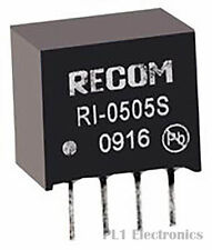 RECOM POWER    RI-2405S    Isolated Board Mount DC/DC Converter, Econoline, SIP,