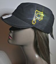 Pittsburgh Pirates Bling Womens Cadet Hat Cap Worlds Finest Crystal Rhinestones