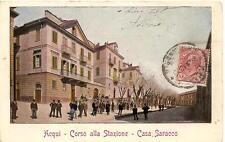 ACQUI  -  Corso alla Stazione - Casa Saracco   #