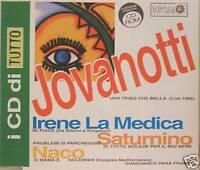 JOVANOTTI-SATURNINO-LA MEDICA-NACO cd's promo mint