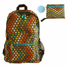 CLOSEOUT SALES 50 PIECE Portable Foldable, Travel nylon foldable backpack