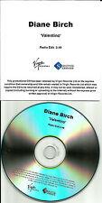 DIANE BIRCH Valentino w/ RARE RADIO EDIT UK PROMO DJ CD single USA SELLER 2009
