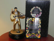 ELVIS PRESLEY  ELVIS THE 50'S  LIMITED EDITION MUSICAL licensed & authorized by