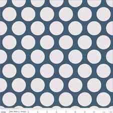 Super Star Blue Dot by Zoe Pearn, My Mind's Eye for Riley Blake, 1/2 yard fabric