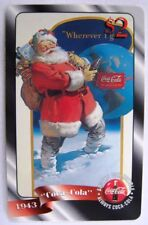 Coca Cola $2 Sprint Santa Phone Card # 17 - New 1996