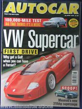 AUTOCAR Magazine 29th April 1998 VW W12